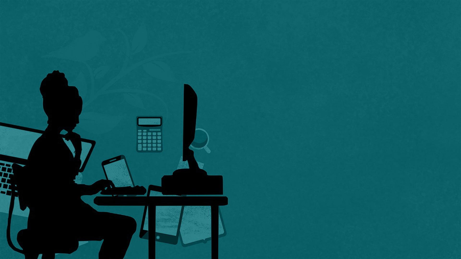 woman-working-online
